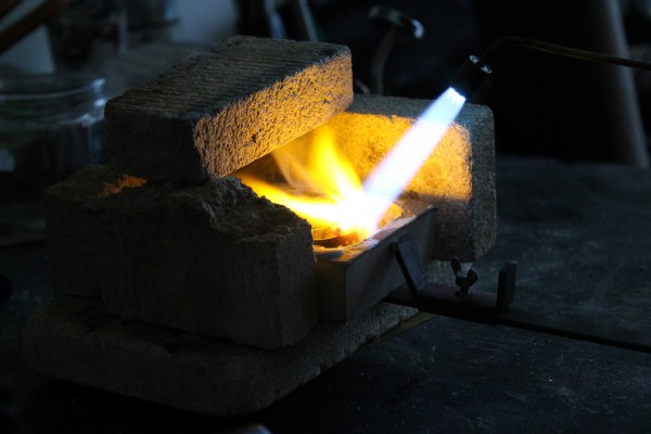 materiaal smelten