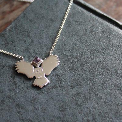 uilen hanger amethist